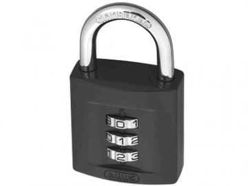 158/40 40mm Combination Padlock (3-Digit) Die-Cast Body Carded